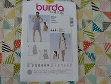 Burda 7232  Misses' CUTE A-Line Summer dress sewing pattern size 8 thru 18
