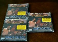 Sublime 3 Ring Circus - Live At The Palace (2DVD + CD) SEALED VG
