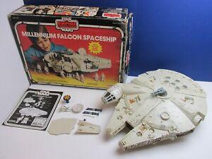 COMPLETE star wars VINTAGE MILLENNIUM FALCON original BOXED esb PALITOY 1109