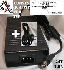 Power Netzteil  Ersatz für FSP180-AAA FSP180-AAAN1 Adapter 24V 7,5A 180 Watt OVP