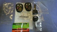 1 Set 2 Replacement Keyless Entry Remote Key Fobs w/Battery LHJ011 102P Keys NEW