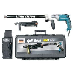 QuikDrive PRO250G2M25K System w/ 120V Makita 2500 RPM Motor