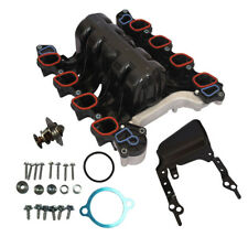Intake Manifold w/ Thermostat & Gaskets Kit FIT For Ford Lincoln Mercury 4.6L V8
