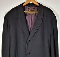 Vintage Men\u2019s Tweed Single Breasted Coat