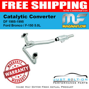 Magnaflow Catalytic Converter DF 1985-1995 Ford Bronco / F-150 5.0L - 93307
