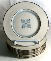 "8 Lenox Charmaine 6 3/4"" Bread And Butter Plates"