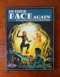 In Your Face Again Feng Shue Scenario Anthology RPG 2001 Atlas Games AG4006