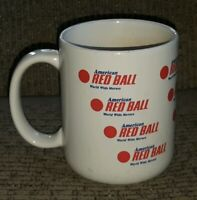 AMERICAN RED BALL world wide movers Advertising CERAMIC COFFEE MUG CUP vintage
