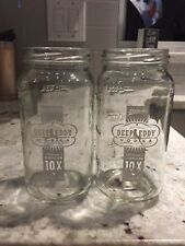 glass mason jar cup Deep Eddy Vodka 12 oz Austin Texas