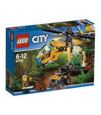 Helicoptero transporte jungla Lego 60158
