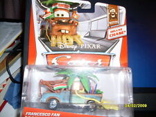 DISNEY CARS 2 FRANCESCO FAN MATER DELUXE CHASE SERIES SCL 1:43 VHTF!