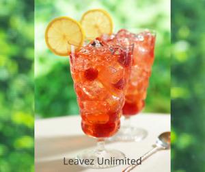 White Raspberry Iced Tea Pouch 4 Quarts Loose Leaf Tea