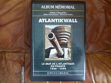 HEIMDAL Editions ALBUM MEMORIAL ATLANTIKWALL  1940 44 WAFFEN LEIBSTANDARTE ww2