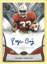 2014 Topps Supreme #RC Roger Craig Autograph Card #04/50