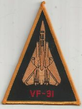 USN VF-31 PATCH -      TOMCAT TRIANGLE SHAPE                               COLOR