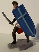 "Sleeping Beauty Prince Phillip 4"" PVC Mini Figure Cake Topper Disney Store"