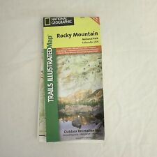 National Geographic Trails Illustrated Rocky Mountain NP,CO #200