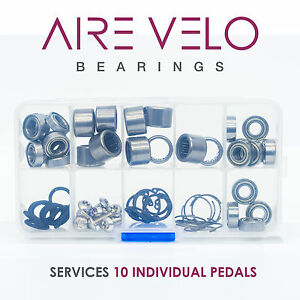 SPEEDPLAY PEDAL BEARING BOX SET - SERVICES 10 PEDALS