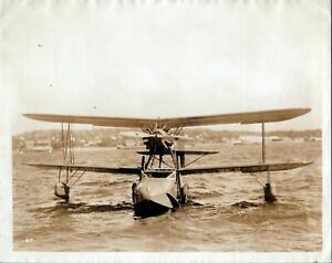 KEYSTONE-LOENING K-84 COMMUTER FLYING BOAT LARGE VINTAGE PHOTO