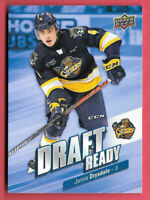 2019-20 Jamie Drysdale Upper Deck CHL Rookie Draft Ready - Erie Otters