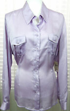 COLDWATER CREEK Size XL New With Tags Lilac Lt. Purple Button Down Shirt