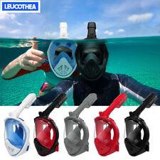 180° Full Face Mask Swimming Underwater Diving Snorkel Scuba For GoPro  Anti-Fog