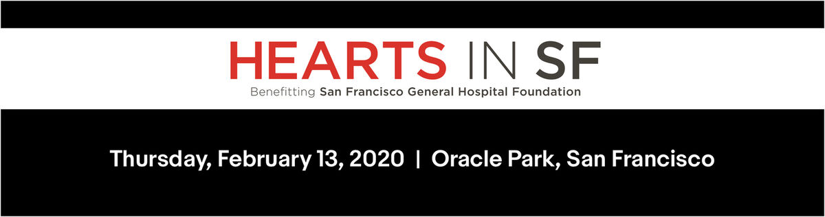Hearts in SF, February 13, 2020 at Oracle Park, San Francisco