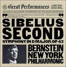 Bernstein, Nyp, Sibelius, Symphony 2, Excellent
