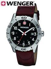 NEW WENGER SWISS ARMY  mens Watch  Grenadier 0741.103   $195 tag black nwt