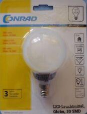 LED-Leuchtmittel, Globe, 30 SMD     NEU !!!