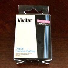 Vivitar NP-FZ100 Digital Camera Battery For Sony a7 lll a7r lll a9