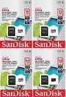 LOT SanDisk microSDHC 16GB 32GB microSDXC 64GB 128GB Ultra microSD 80MB/s Card