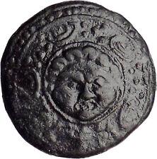 Macedonia 288BC Ancient Greek Coin Shield w Gorgon's head Helmet i30222