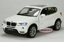 Free shipping 1:32 BMW X3 Alloy Diecast Car Model Toy Sound & Light White B1822