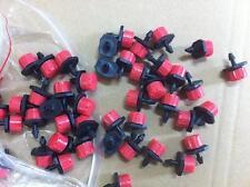 """500pcs 1/4"""" Misting Micro Adjustable Flow Dripper Drip Head"""