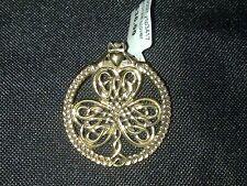 Bronze necklace Pendant clover leaf  New RRP $36