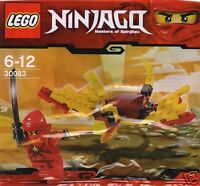 LEGO Ninjago Roter Ninja Kay + Drache 30083