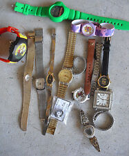 BIG Lot of Vintage Mens and Womens Watches LOOK