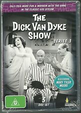 THE DICK VAN DYKE SHOW WITH MARY TYLER MOORE COMPLETE SEASON 3 NEW 5 DVD SET