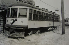 USA519 - ST LOUIS WATERWORKS RAILWAY Co - TROLLEY No10 PHOTO - Missouri USA