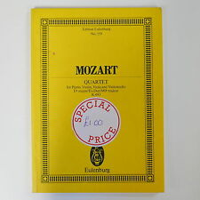 Punteggio Tasca Mozart QUARTETTO KV 493