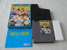 North & South Nintendo NES Spiel komplett mit OVP und Anleitung CIB