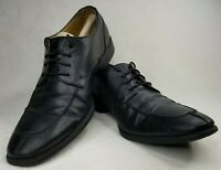 Cole Haan C12328 Adams Black Apron Split Toe Dress Oxfords Men's US 8 M