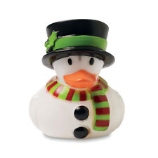 Snowman Rubber Duck Novelty Party Favour Stocking Filler Christmas Gift Xmas Fun
