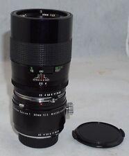 Vivitar Series I 90mm f2.5 VMC Macro Lens w/ Macro 1:1 Adapter for Minolta