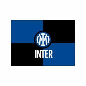 Bandiera Inter originale Nuovo Logo 2021 Misure 70x50 ufficiale