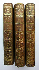 oeuvres de Prosper Jolyot de CREBILLON (Crébillon Père)- 1772  -COMPLET 3 Tomes