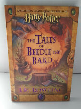 HARRY POTTER 📚 Tales Of Beedle The Bard 1st Edition Signed Facsimile