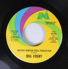 Soul Promo 45 Bill Cosby - Grover Henson Feels Forgotten / Grover Henson Feels F