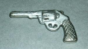 "1/6 Scale Revolver Diecast Gun Miniature 2.25"" Gumball Machine Prize Toy Replica"